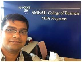 Penn State Smeal MBA Student