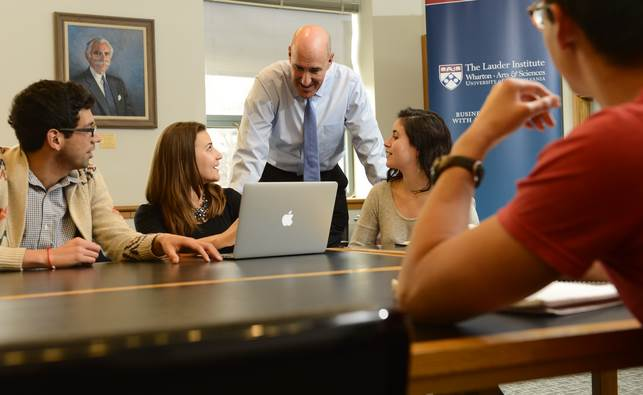 Wharton Dual Degree MBA-MA with Lauder Institute