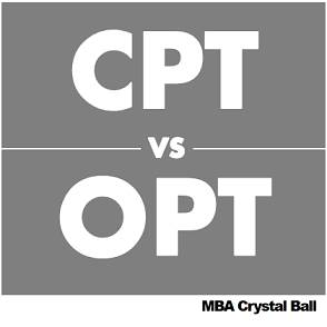 CPT vs OPT Differences