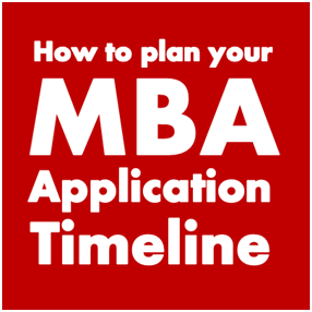 How to plan your MBA Application Timeline