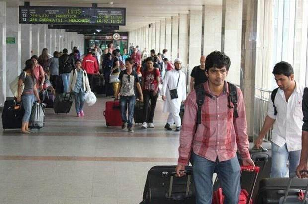 International students returning to India China