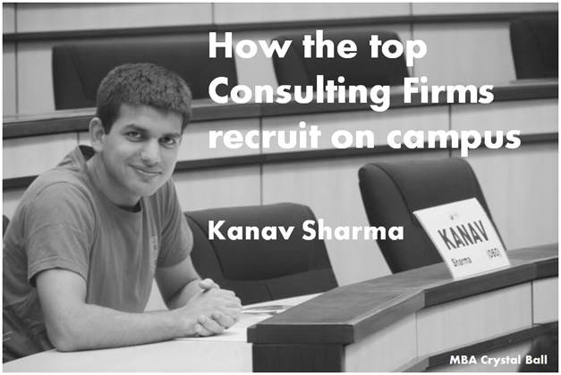 How consulting recruitment works on campus