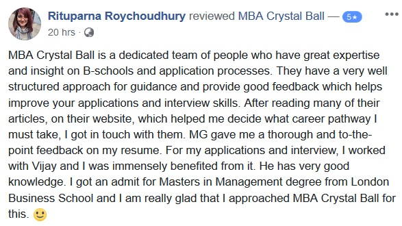 London Business School MiM Review