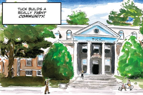 What Dartmouth Tuck looks for in MBA applicants