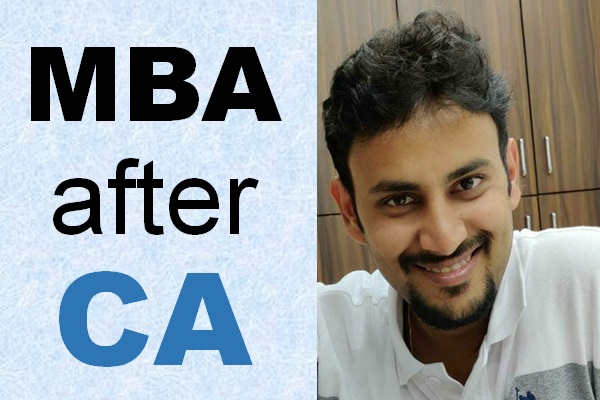 MBA after CA: Textile manufacturing experience