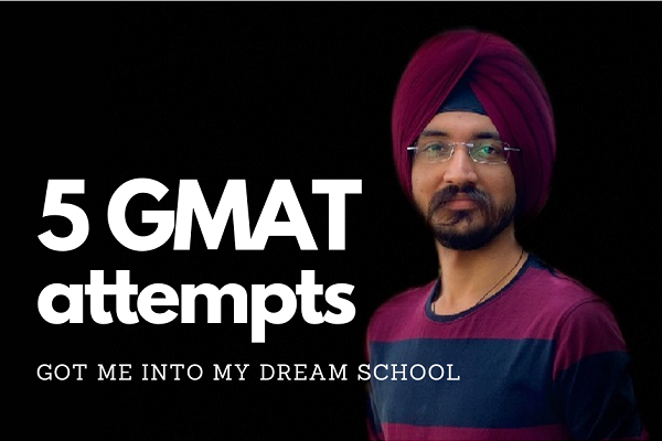 How many times should one take the GMAT