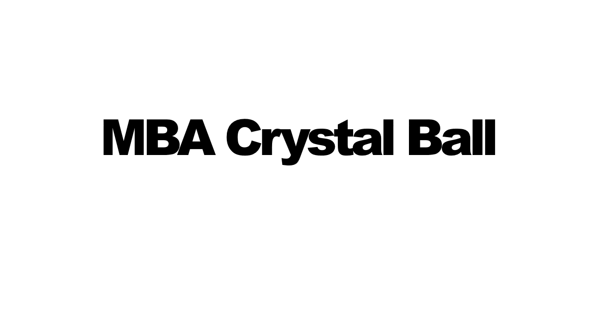MBA in USA - Best business schools ranking, costs, salaries - MBA Crystal Ball