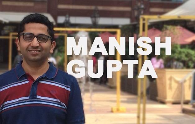 Manish Gupta | Chief Consulting Officer